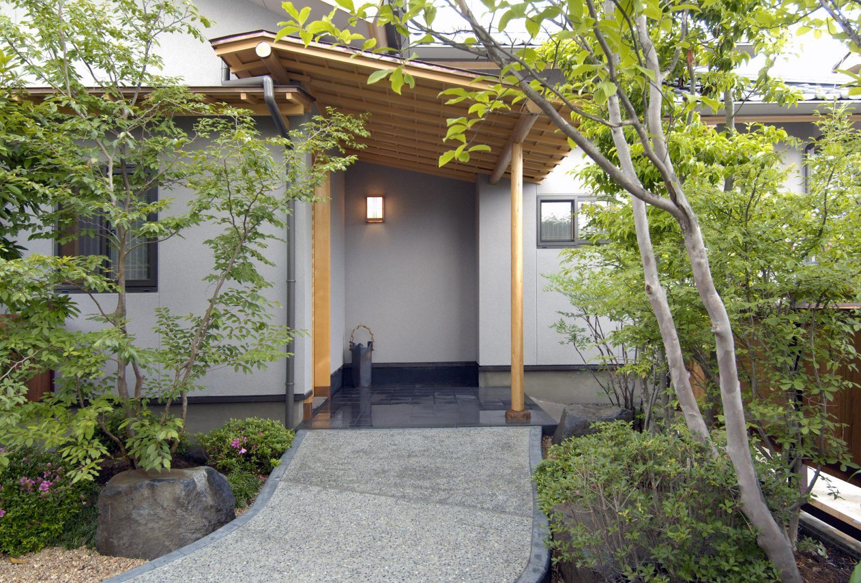 現代数寄屋建築 A邸