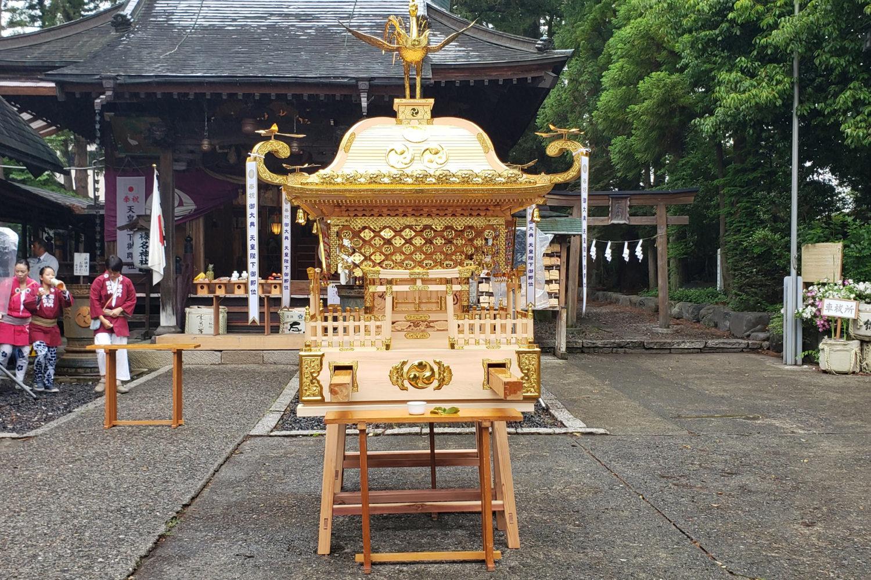 榛名神社神輿