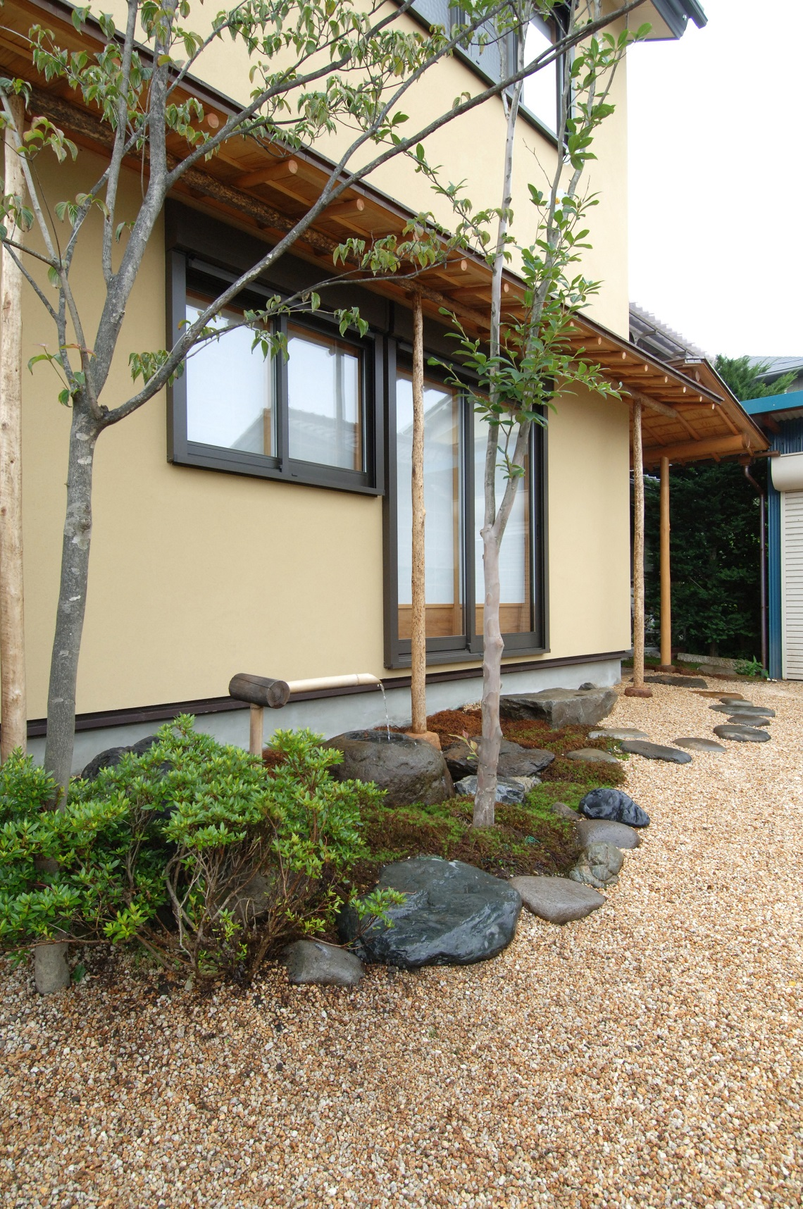 茶室建築の家