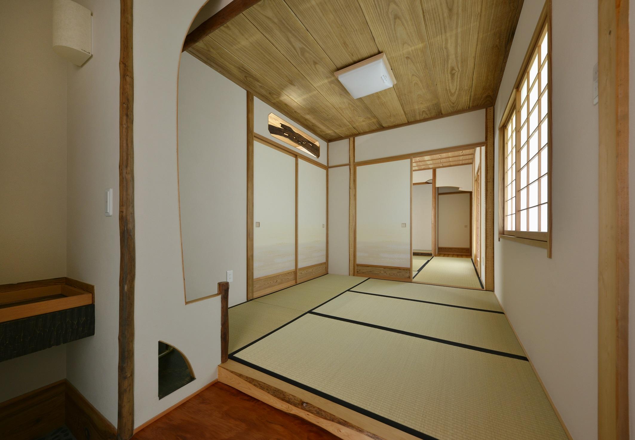 WABISABI茶室建築